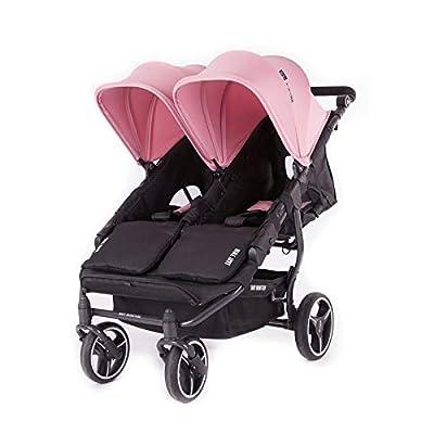 Baby Monsters Silla de Paseo Gemelar Easy Twin 3S (Milkshake)