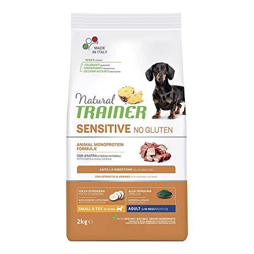 Trainer Natural Sensitive No Gluten Mini Adult Anatra 2 kg