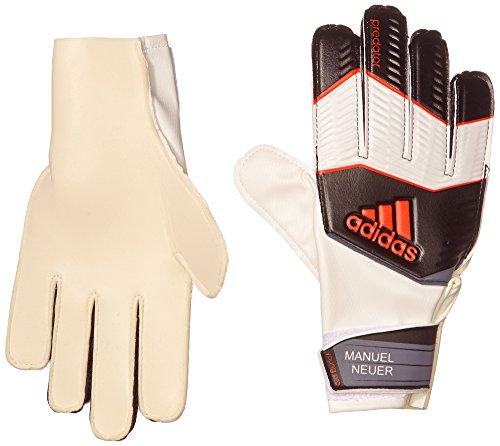 adidas Kinder Torwarthandschuhe Predator Pro Manuel Neuer, Black/White/Solar Red, 9