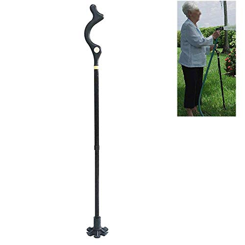 Bâtons de randonnée, légère Pliable réglable en aluminium télescopique Bâton de randonnée avec bâtons de marche nordique Paire Trek Accessoires pour les femmes Hommes Seniors Trail Randonnée,A+b