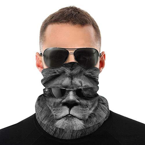 Bandeau, Lion porter des lunettes écharpe Bandana sans couture élastique, série de chapeaux de sport de résistance aux UV pour Yoga randonnée équitation moto