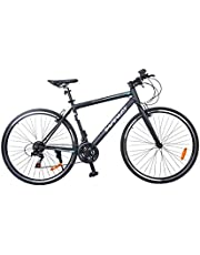 Bicycle hybrid of metal transmission version of Shimano multi-speed high quality and competitive price