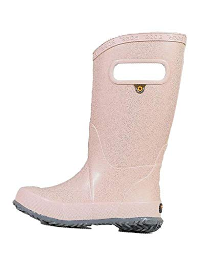 Nautica Kids Girls Youth Ankle Bootie with Side Buckle and Zipper, Dress Boot-Anper-Blush-1