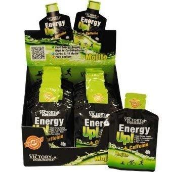 VICTORY ENDURANCE, Energy Up Gel y Cafeína, Mojito - 960 gr