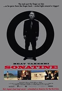 Sonatine Movie Poster (27 x 40 Inches - 69cm x 102cm) (1998) Style B -(Takeshi