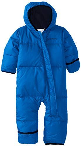 Columbia Sportswear Columbia Snuggly Bunny Mono de esquí infantil, Niño, Azul (Super Blue, Collegiate Navy Heather), Talla: L