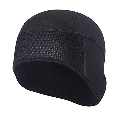 Cambano Herren Elastisch Mütze Fahrrad Mütze Winddicht Helmmütze Kopfbedeckung für Radsport Laufen Skifahren Snowboard Joggen