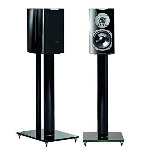 Quadral Chromium Style 20, 90 W, Schwarz – Lautsprecher (2-Wege, kabelgebunden, 90 W, 51 – 46000 Hz, 8 Ohm, Schwarz)
