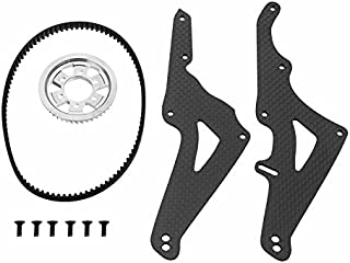 HITSAN FIJON FJ913 1/5 Carbon Fiber Competition Motorcycle RC Car Parts After 44T lengthened OP OP1 One Piece