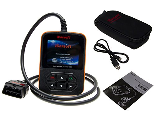 iCarsoft i908 OBD2 Diagnose Gerät CanBus Scanner Farbdisplay ABS