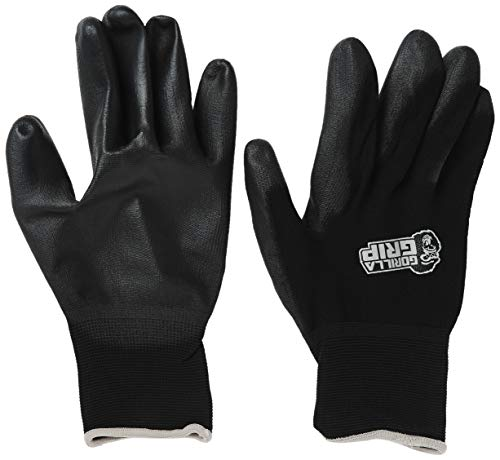 Gorilla Grip Slip Resistant All Purpose Work Gloves | Size: X-Large | Single Pair of Gloves