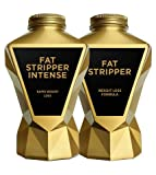 LA Muscle Fat Stripper + Fat Stripper Intense   Two Powerful Best Selling Fat Burners for Men and Women   Big Saving   Strong and Effective Fat Loss and Weight Management Bundle   GM Free