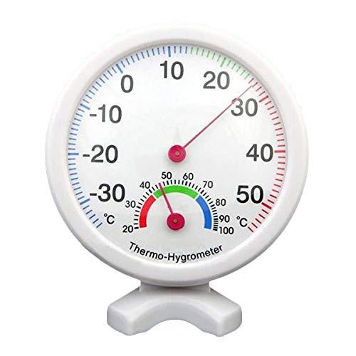 TOOGOO(R) Indoor Outdoor Hygrometer Luftfeuchtigkeit nassen Thermometer Temperatur Temp Meterspur - blau