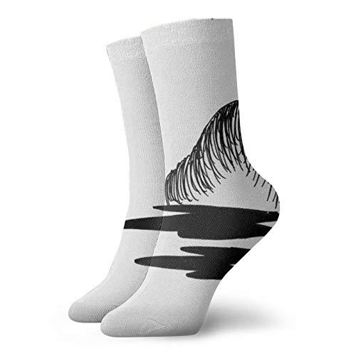 Light Brick Wall Bricks Pattern Fashion Long Socks Soft Warmer Stockings 1 Pair For Women &Men Sport Socks 11.8 Inch(30Cm)