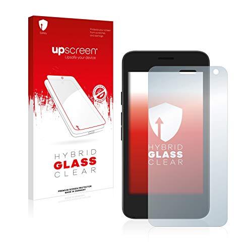 upscreen Hybrid Glass Panzerglas Schutzfolie kompatibel mit Archos Access 45 9H Panzerglas-Folie