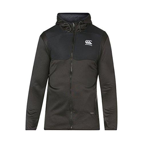 Canterbury, Thermoreg Spacer Fleece Full Zip, Felpa, Uomo, Nero, M
