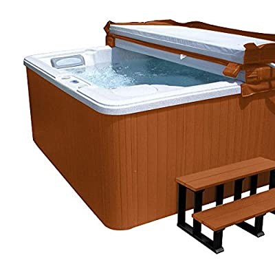 Highwood SPAKIT-FL-RDE Hot Tub Cabinet Spa Replacement Kit, Redwood