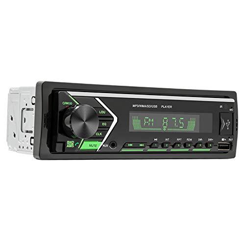 KESOTO Reproductor de DVD para Coche RGB Monitor LCD Reproductor de MP3 Entrada Auxiliar Receptor de Radio FM