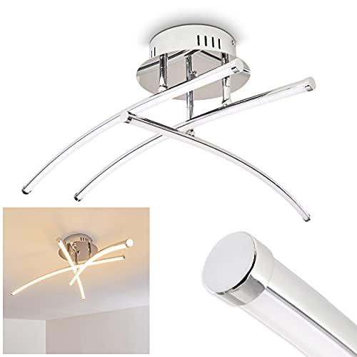 Moderna Lámpara de techo LED - 1x LED 20W alta eficiencia - 1500 Lumens 3000K blanco cálido - 1x Elemento LED ajustable - Lámpara de techo salón dormitorio restaurantes