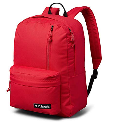 Columbia Sun Pass II Day Pack Laptop/Travel Backpack (One size, True Red)
