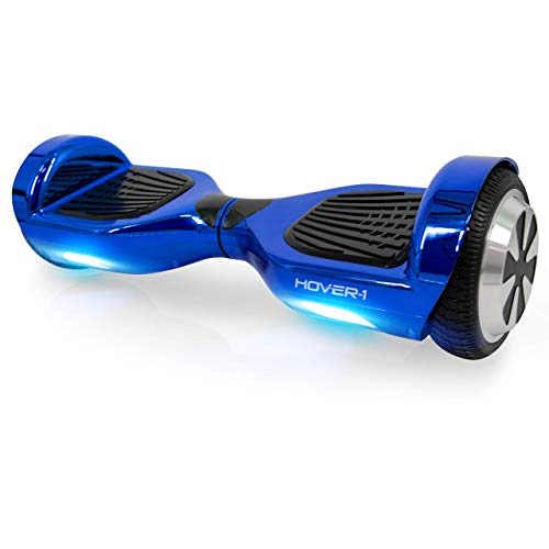 Hover-1 Ultra Electric Self-Balancing Hoverboard Scooter, Blue, 24 x 9 x 9.5 inches
