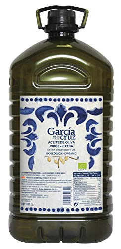 García de la Cruz - Huile d'Olive Extra Vierge Ecologique - Carafe 5L