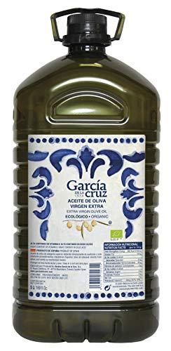 García de la Cruz - Huile d'Olive Extra Vierge Biologique Récoltée à Maturité Carafe (5L)