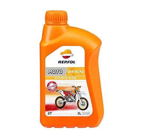 REPSOL Moto Off Road 2T Aceite De Motor Para Moto, 1L