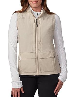 SCOTTeVEST Women's Q.U.E.S.T. Vest - 42 Pockets – Photography, Travel Vest (XL, Beige) by