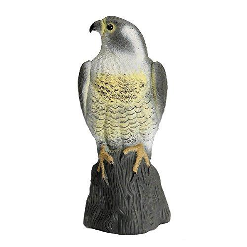 SODIAL Large Falcon Decoy Bird D...