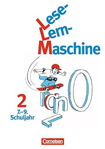 Lese-Lern-Maschine, neue Rechtschreibung, Bd.2, 7.-9. Schuljahr