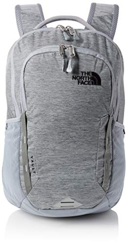 The North Face Vault Backpack, Mid Grey Dark Heather/TNF Black, One Size