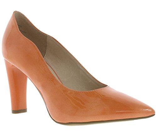 CAPRICE Schuhe Pumps Damen Schuhe Abendschuhe Apricot, Größenauswahl:36