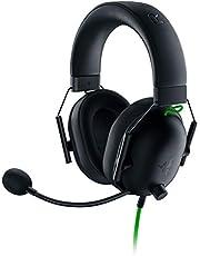 Razer BlackShark V2 X ゲーミングヘッドセット 3.5mmアナログ 7.1ch サラウンド 特許技術採用50mmドライバ 単一指向性マイク ノイズキャンセリング 高遮音性イヤーカップ 軽量240g PC PS4 PS5 Xbox Nintendo Switch 【日本正規代理店保証品】 RZ04-03240100-R3M1