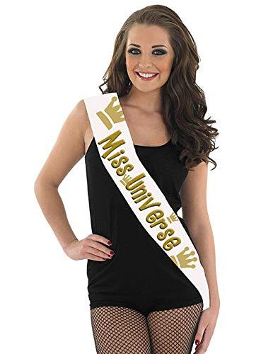 Echarpe Miss Universe 80 x 14 cm
