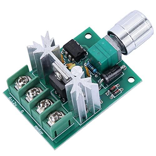 Gobernador de motor, interruptor de controlador PWM, 1 PC DC 6-12V 6A regulador de control de velocidad del regulador de motor interruptor de controlador PWM 51 * 37mm