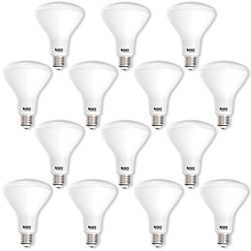 Sunco Lighting 14 Pack BR30 LED Bulb 11W=65W, 4000K Cool White, 850 LM, E26 Base, Dimmable, Indoor Flood Light for Cans - UL & Energy Star