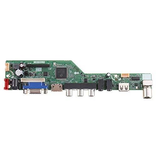 Placa De Controlador De Controlador De TV LCD UniversalTerminal De Tornillo Estéreo Doméstico