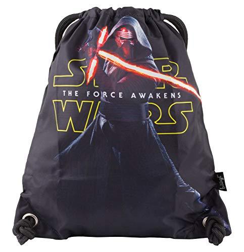 Baagl Star Wars Sportsack für Sport und Schule - wasserdichte Schuhbeutel, Turnbeutel für Fans, Herren und Junge