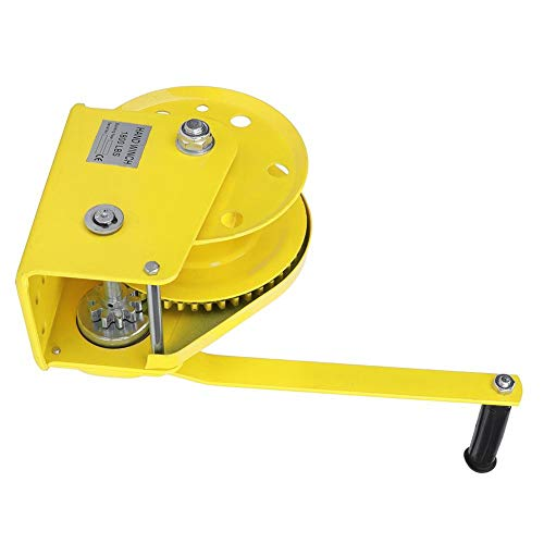 Cabestrante autoblocante, herramienta de mano industrial bidireccional con rueda dentada...