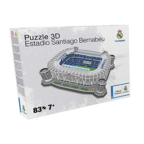 Nanostad Real Madrid 'Santiago Bernabeu' Stadium 3D Puzzle
