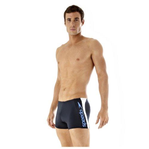 Speedo Aquashort Alexandro Boxer de bain Homme Blanc 4
