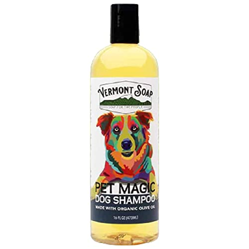 Vermont Soap Organics Pet Shampoo - Infused with...