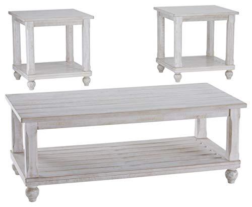 Signature Design by Ashley - Cloudhurst Contemporary 3-Piece Table Set...