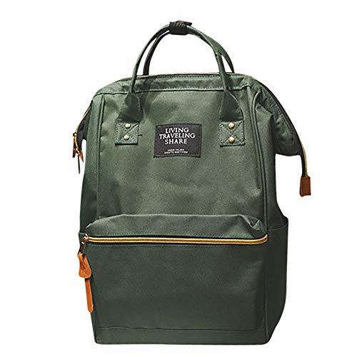 Fannyfuny bolsos Mochilas Casual de Viaje o Escuela para Hombre Mujeres y Chicos con Gran Capacidad Bolsa de Diario y Ocio Messenger Bag Backpack