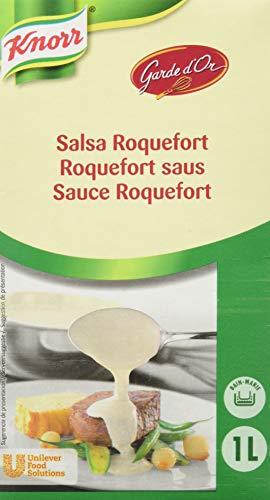 Knorr Garde d'Or Roquefort-Sauce, Packung 1 ltr