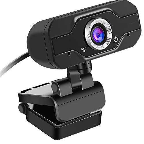 QINQIN Computer Webcam 720P Webcast Online Onderricht HD-camera ingebouwde microfoon vaste brandpuntsafstand High-end video 1 miljoen pixels 360 graden rotatie CMOS