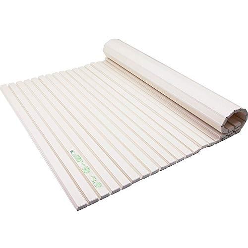 YLL Ménage Baignoire Thickening Couverture Pliant Baignoire Dust Cover Conservation de la Chaleur Baignoire Partition de Stockage étagère