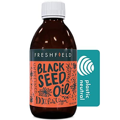 Freshfield Black Seed Oil: 3X% Thymoquinone, High Carvacrol (Black Cumin Seed...