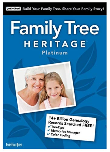 Family Tree Heritage Platinum 15 [PC Download]